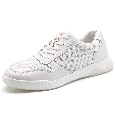 ddf985c4c5b4 Amazon.com | HEmei Men's Sneakers/Spring/Fall Leather Mesh Men Shoes ...