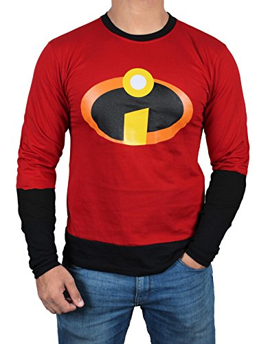 Mr Incredible Mens Costume - Miracle Mugs The Incredibles 2 Logo