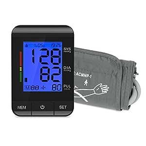 Tensiometro de brazo digital Electrónico tension arterial Monitor de Presión Arterial et Ultra-delgado Certificado