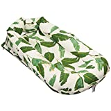 DockATot Deluxe+ Dock (Bananas for You) - The All in One Baby Lounger, Portable Crib and Bassinet - Perfect for Co Sleeping - Breathable & Hypoallergenic - Suitable from 0-8 Months