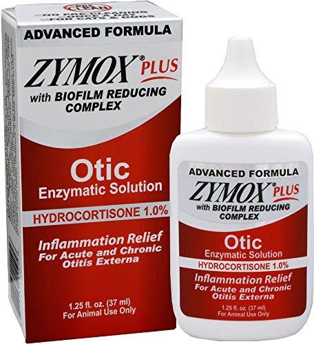 Zymox Plus Otic-HC Advanced Formula (1.25 oz) (Yeast Infection Dog Ears Over The Counter)