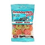 50 Bags x 50g of Dragster 2000 Super Sura - Original - Swedish - Mix - Fruit - Sour - Wine Gums - Candies - Sweets