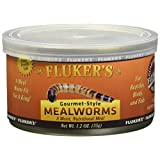 Fluker's 78001 Gourmet Canned Mealworms, 2.4 lb