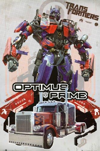 Transformers Poster Optimus Prime Rare Hot New