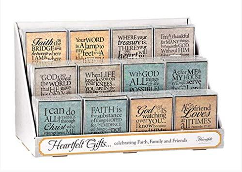 "CB Gift YS281 ""I Believe Joshua 24:15"" Tabletop Plaque"