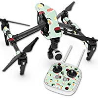 Skin For DJI Inspire 1 Quadcopter Drone – Sushi | MightySkins Protective, Durable, and Unique Vinyl Decal wrap cover | Easy To Apply, Remove, and Change Styles | Made in the USA