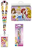 Disney Princess Autograph Book, Pens and Lanyard with ID Card Holder For Vacations