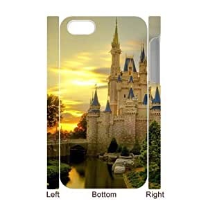 For Apple Iphone 5C Case Cover Building 3D Art Print Design Phone Back Case Hard Shell Protection FG094268