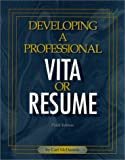 img - for Developing a Professional Vita or Resume book / textbook / text book