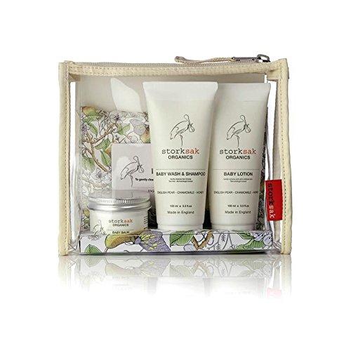 Storksak Organics Little Traveller Gift Set - Pack of 4 by StorkSak
