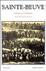 Portraits littéraires : Sainte Beuve par Sainte-Beuve