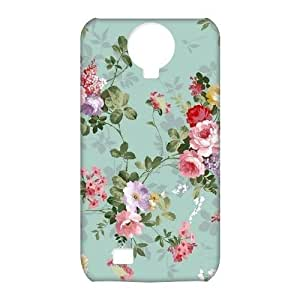 Mint Green Vintage Floral 3D Durable Ipod Touch 4