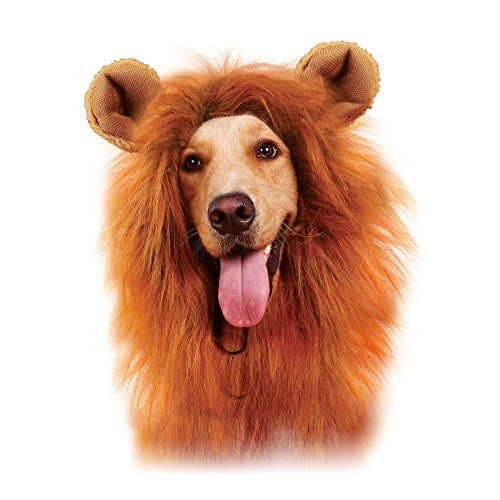 SPORER Lion Mane for Dog, Dog Costume Lion