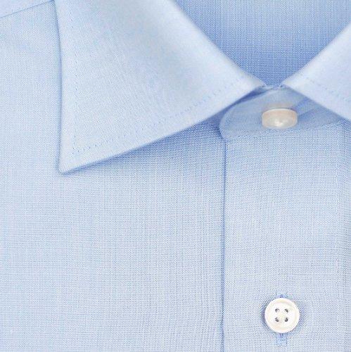 Olymp Hemd Luxor Modern Fit extra kurzer Arm - hellblau, Kragenweite:42