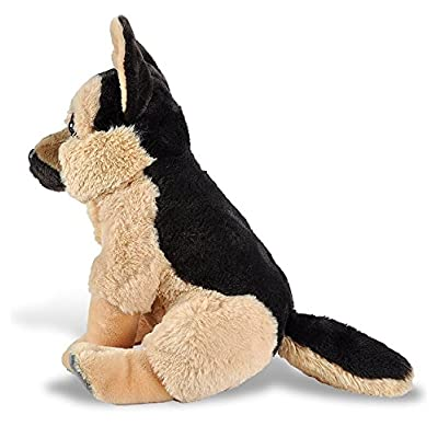 Wild Republic, German Shepherd Plush, Stuffed Animal, Plush Toy, Gifts Kids, Pet Shop, 12 Inches: Toys & Games