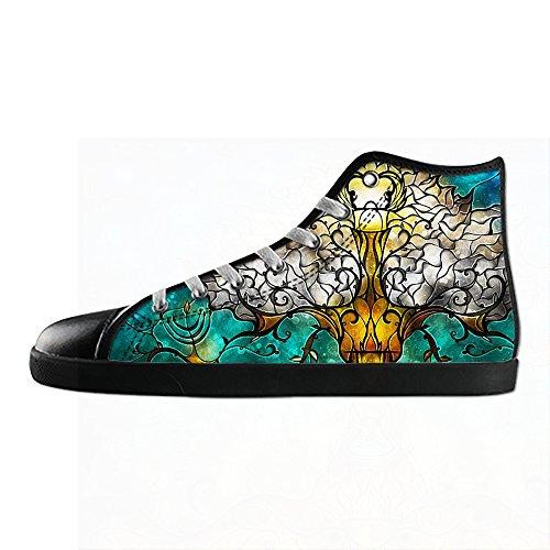 Peinture D'arbre D'art Personnalisé Womens Canvas Shoes Les Lacets Chaussures Baskets Montantes