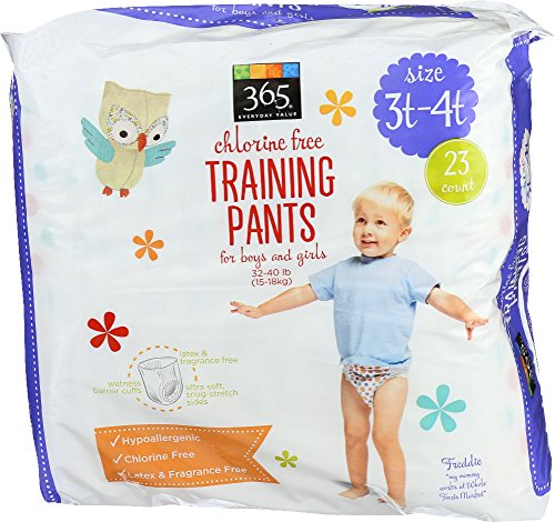 365 Everyday Value Training Pants Size 3T-4T, 23 Count