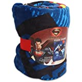 Who is He Superman Man of Steel Plush Throw Blanket