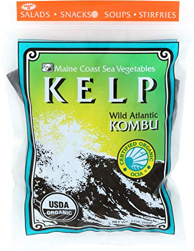 Maine Coast Kelp & Kombu Bag Organic, 2 - Strips Jerky Vegetables