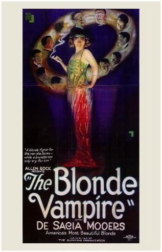 The Blonde Vampire Poster////The Blonde Vampire Movie Poster////Movie Poster////Poster