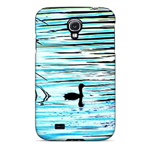 Galaxy S4 Hard Back With Bumper Silicone Gel Tpu Case Cover Grebe