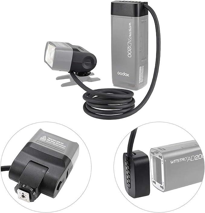 Godox Ec200 Portable 1 85 M Blitzschuh Remote Kamera