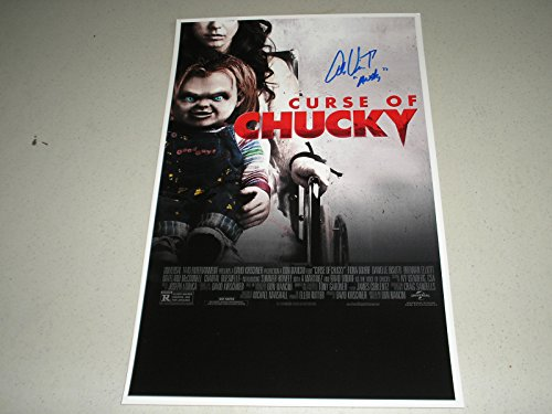 Alex Vincent Signed 11x17 Curse of Chucky Movie Poster Autograph Child's Play