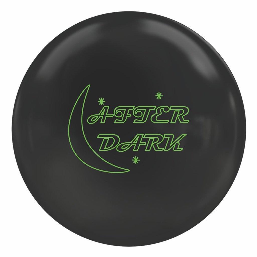 900グローバルafter darkソリッドBowling ball-ブラック B07DQQSX67  14lbs