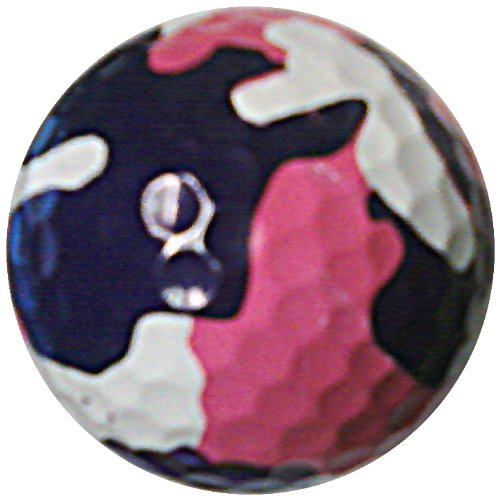 GBM Golf Miscellaneous Novelty 3 Ball Sleeve, Pink ()