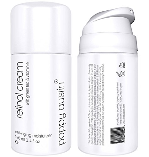 Retinol Cream for Day & Night by Poppy Austin - TRIPLED SIZED 100ml -...