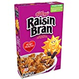 crunchy corn bran - Kellogg's Raisin Bran, Breakfast Cereal, Original, Excellent Source of Fiber, 13.7 oz Box