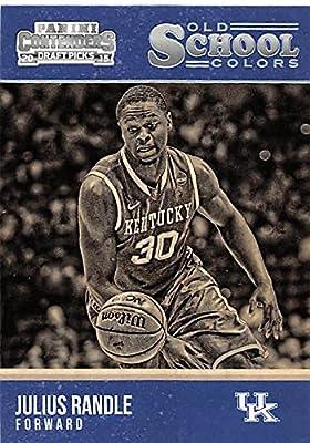 Julius Randle basketball card (Kentucky Wildcats) 2015 Panini Old School Colors #16