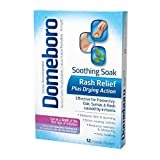 Domeboro Soothing Soak Rash Relief Powder Packets, 12 ea (Pack of 10)