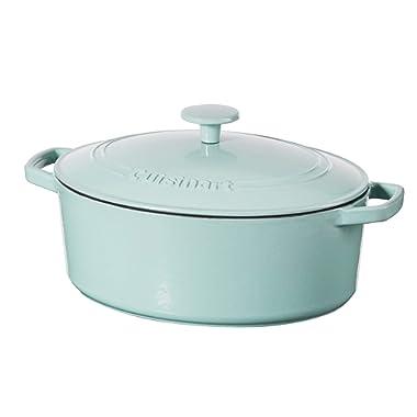 Cuisinart 5.5 Qt. Casserole Cast Iron, Light Blue