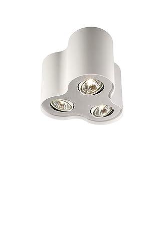 Massive 915001800401 - Lámpara de techo, 3 focos de 50 W ...