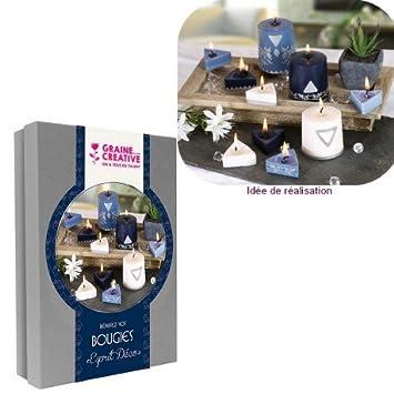 Set Realisierung von Kerzen Esprit Deco, Koffer DIY mit ...