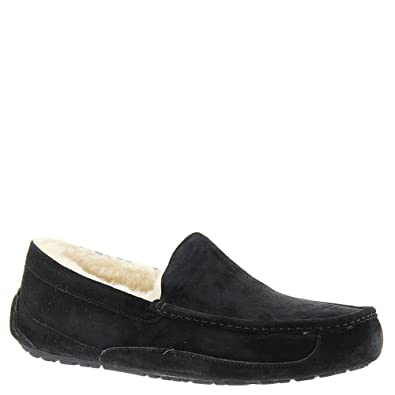 Thick UGG Ascot Suede Men's Black 1024082