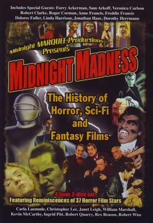 Midnight Madness: The History of Horror, Sci-Fi and Fantasy Films (2-DVD) by