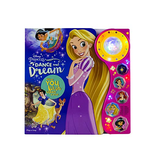 Disney Princess - Dance and Dream: When You Wish Upon a Star Dancing Light Sound Book- PI Kids ()