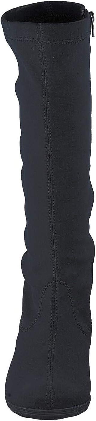 Mephisto ISSA GT Mujer Bota Gore-Tex de Estiramiento Negro JujVi