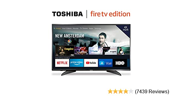 toshiba 4k fire tv edition review