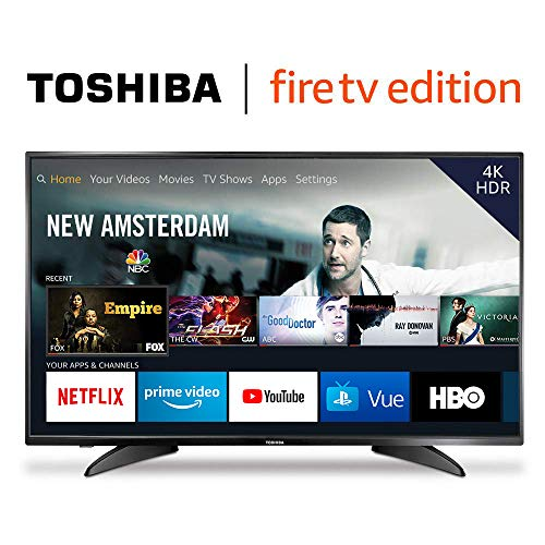 Toshiba 43LF621U19 43-inch 4K Ultra HD Smart LED TV HDR - Fire TV Edition (Best 42 Inch Hd Tv)