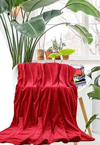 Grise Jet/és de Lit Couverture de Flanelle 150x200 Toutes les Saisons Couverture de voyage avec des sacs d/'/économie d/'espace r/éutilisables