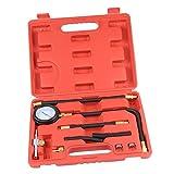 MonkeyJack 1 Set of 100PSI Fuel Injection Gauge Pump Pressure Tester Test Kits for Car System Tool