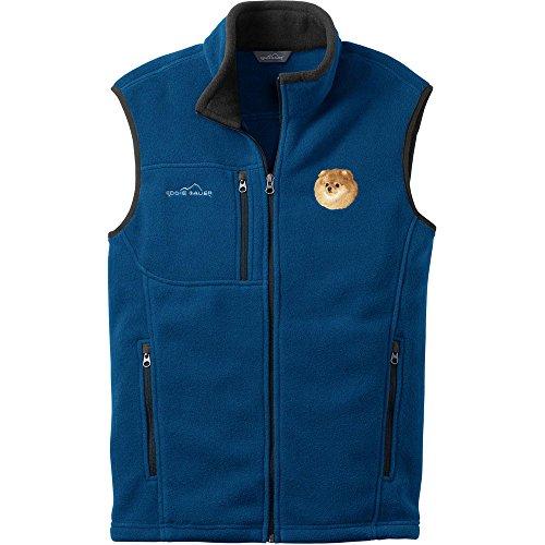 1 Embroidered Fleece Vest - 2