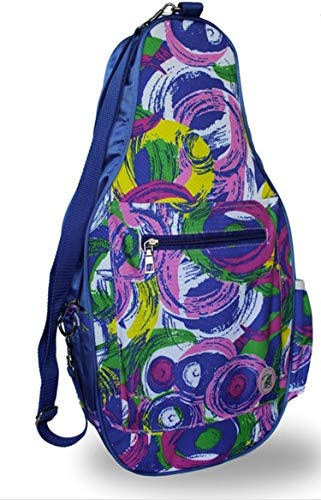 8bd6851641 Pickleball Marketplace Ladies Printed Pickleball Sling Bag - Multi-Color  Design -
