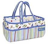 Trend Lab Dr. Seuss One Fish Two Fish Storage Caddy, Red/Blue
