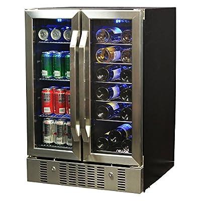 NewAir AWB-360DB Dual Zone Wine & Beverage Cooler