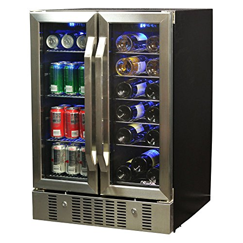 NewAir AWB-360DB Dual Zone Wine & Beverage Cooler