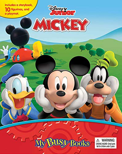 Mickey Mouse Clubhouse Mouseka Fun My Busy Books